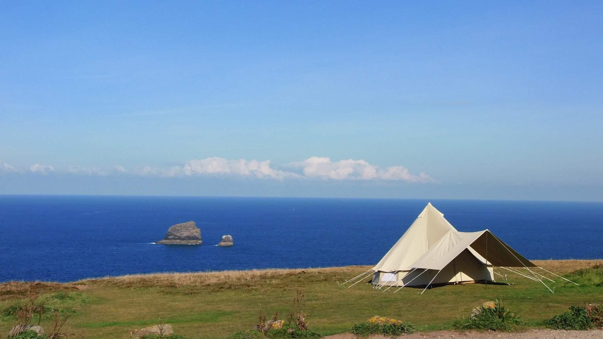 Clifftop Sea view
