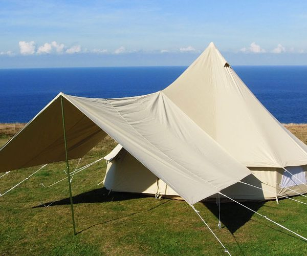 Large Awning Cool Canvas