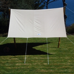 Awning canvas bell tent sun shade beach archives cool canvas - Canvas canopy ...