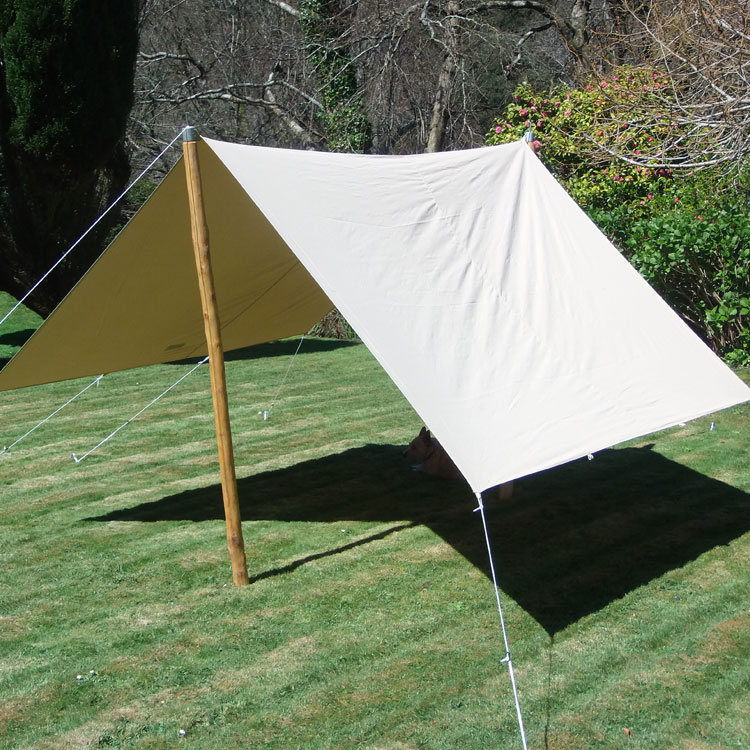 Delux awning cool canvas tent company for Colorado canvas tent