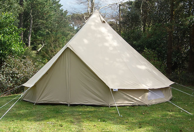 5m Bell Tent Zig Model 100 Cotton Canvas Ebay