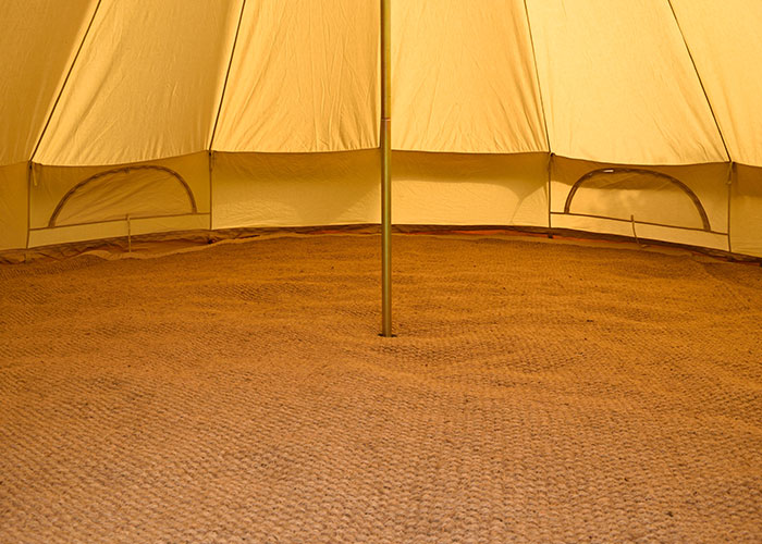 Bell Tent Carpet Large Cool Canvas