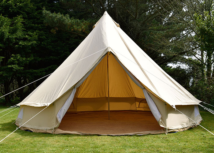 Coir-matting-8 & Bell tent carpet - Cool Canvas Tent Company