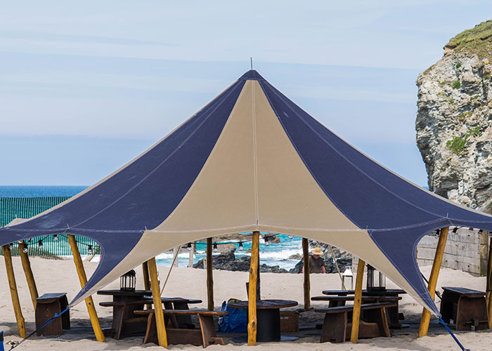 Unique tent hire Cornwall
