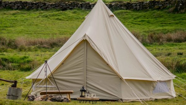 Cool Canvas Bell Tents