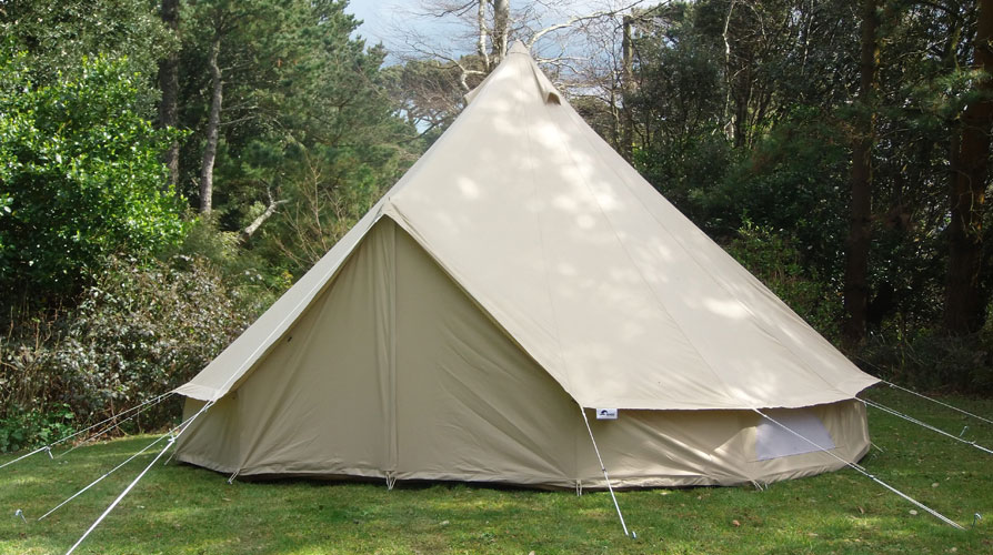 5m bell tent cool canvas tent company for Canvas tent plans