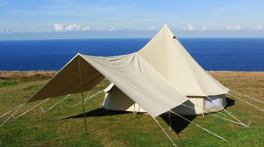 Cool Canvas Tent Company Products Large Awning