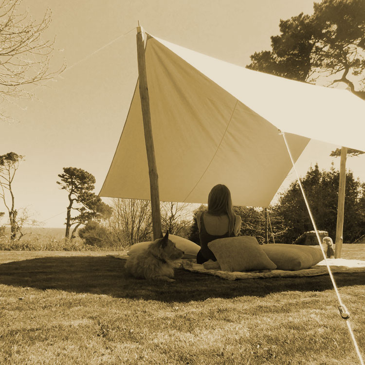 Awning canvas bell tent sun shade beach archives cool for Build your own canvas tent