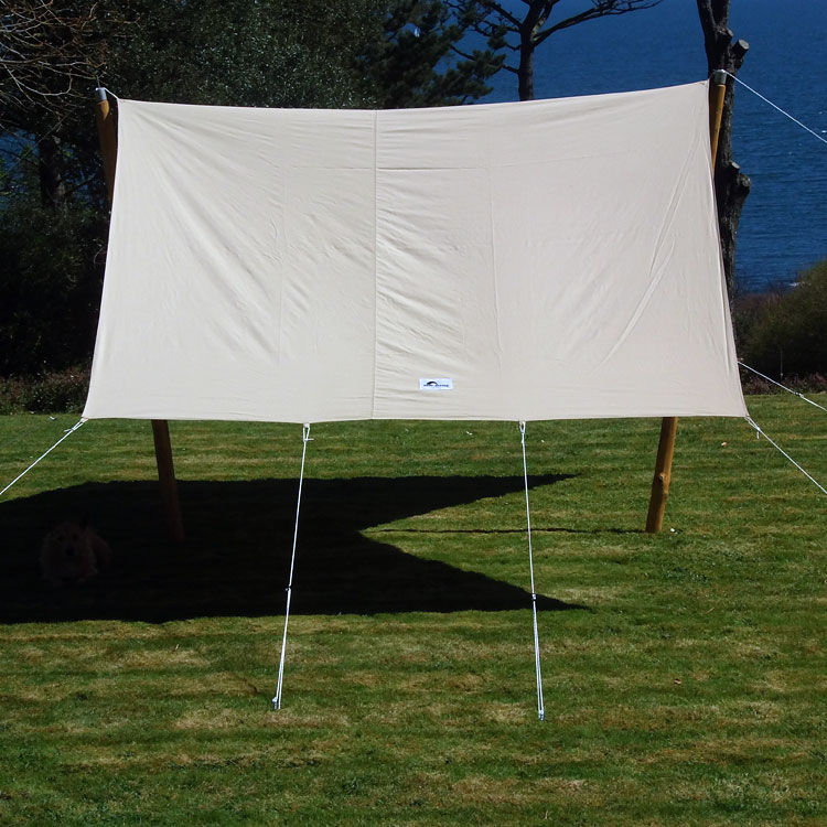 Canvas awnings for bell tents. Free standing awnings for garden parties and sun shades & Canvas Awning - Cool Canvas Tent Company