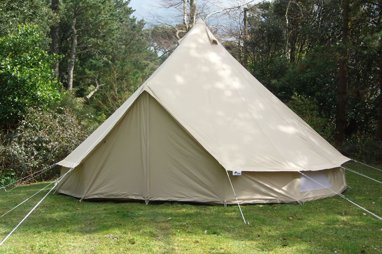 How to put up your bell tent