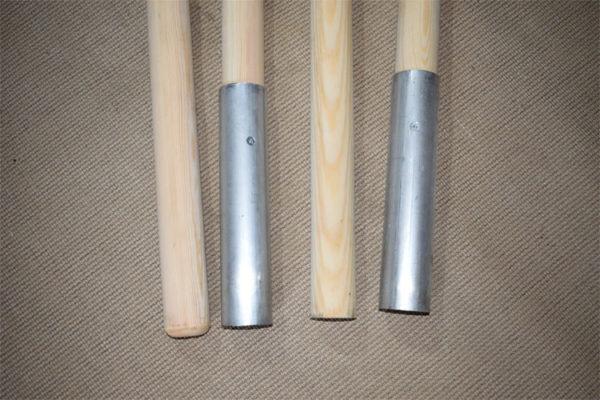 Wooden centre pole