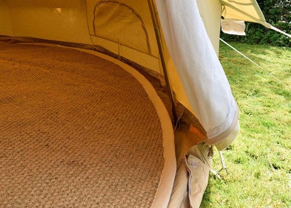 bell tent carpet