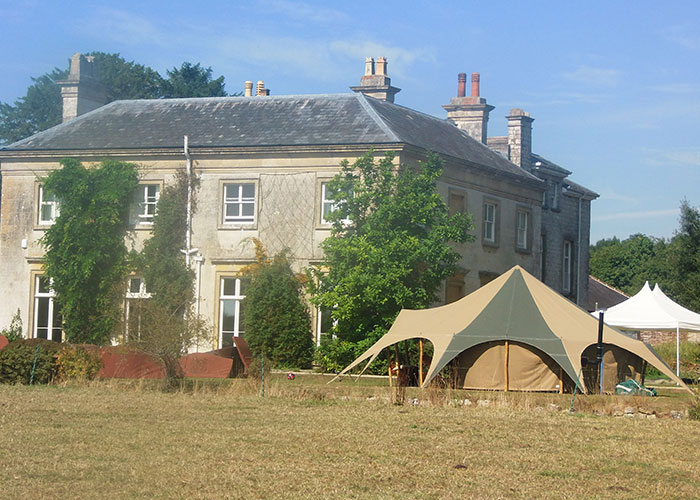 Wedding tent hire Cornwall