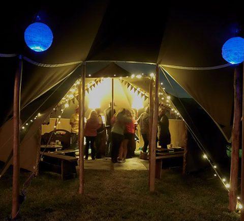 Wedding tent hire Cornwall