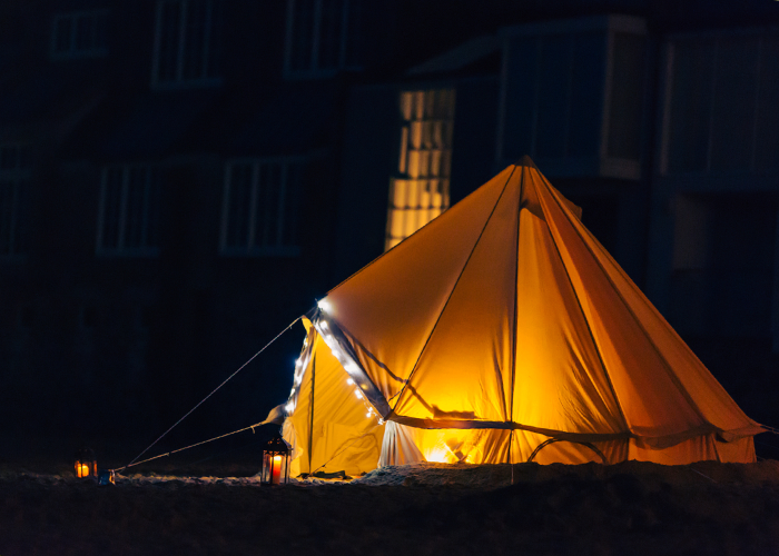 5m Bell Tent Cool Canvas Tent Company