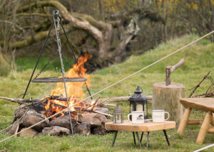 Bell tent glamping accessories