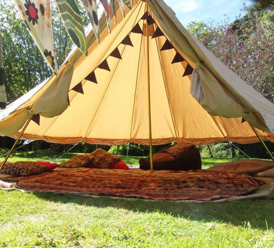 Traditional-canvas-bell-tents