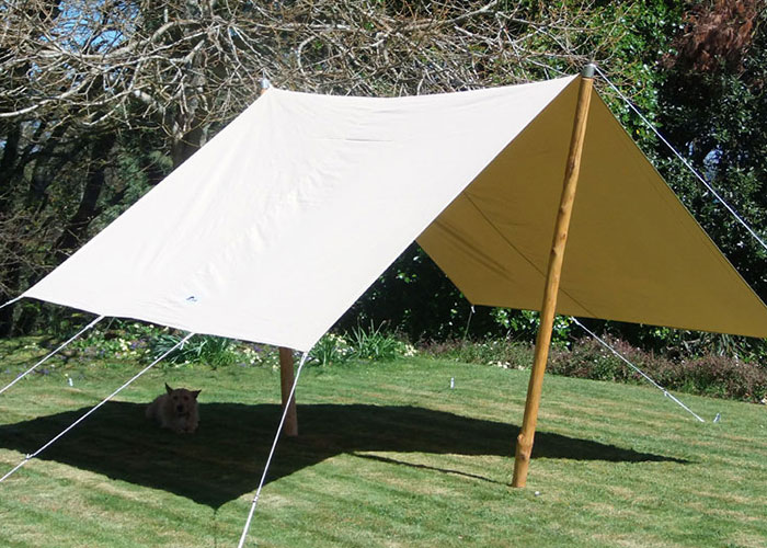 Deluxe awning cool canvas tent company for Colorado canvas tent