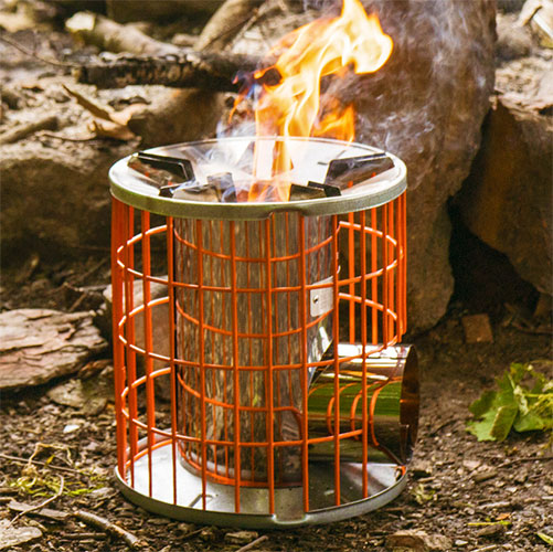 Bell tent stove