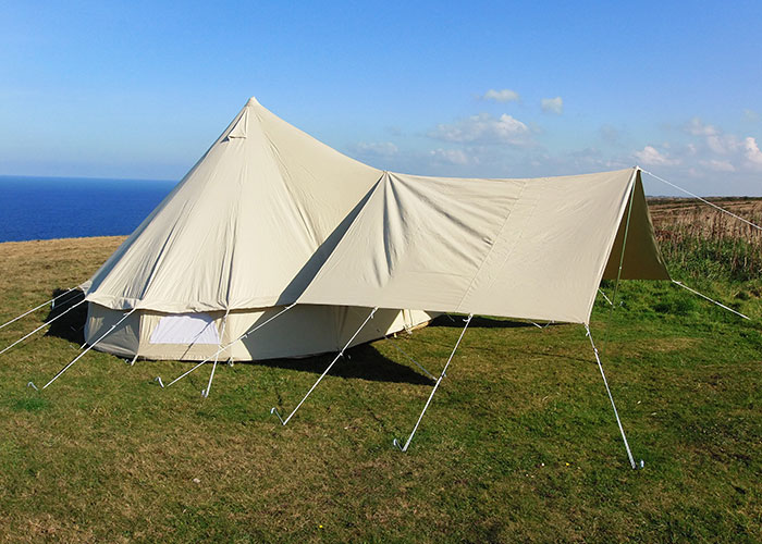 Large Awning Cool Canvas Tent Company