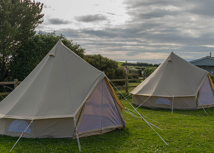 Bell tents Cornwall