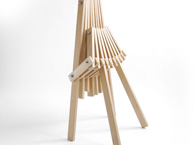 The Toby Chair by Timshel Designs. Wooden Camping Chair