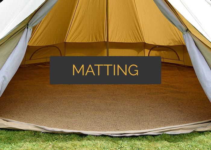 Bell tent matting