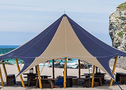 Canvas tent hire