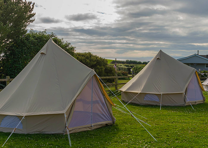 Glamping tent package