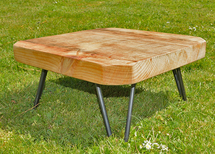 Bell tent camping table