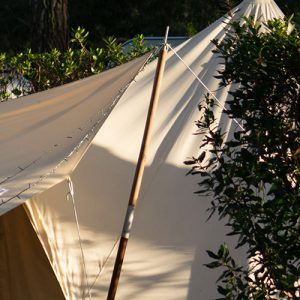 6ft Wooden Tent Pole