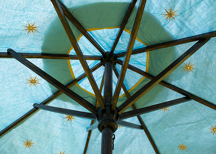 Indian Parasol Cool Canvas Tent Company