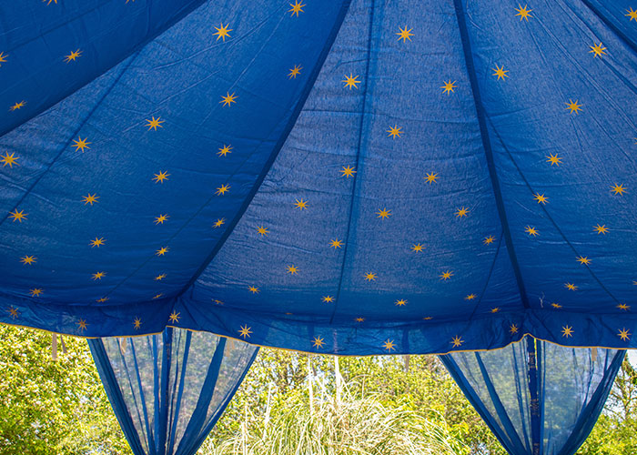 Indian Wedding Tent - Blue