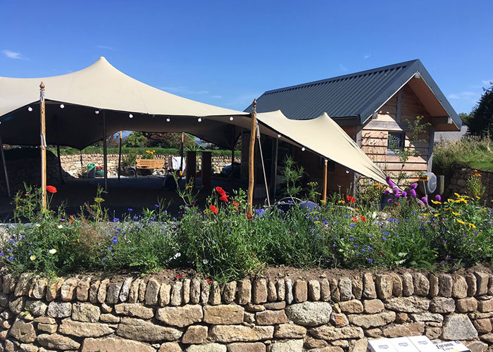 Cornwall stretch tents