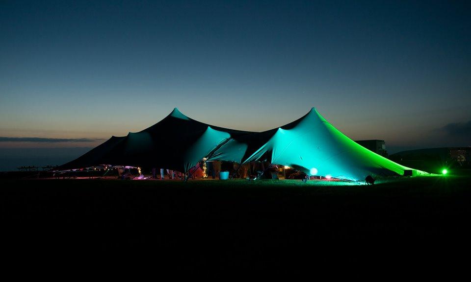 Unique tent hire Cornwall