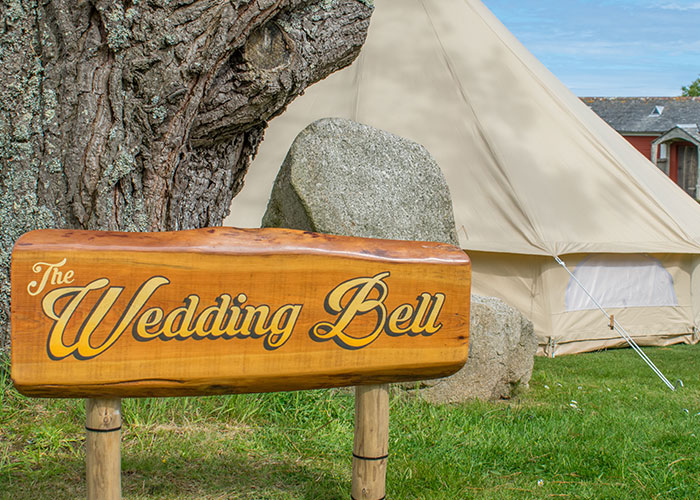 Bell tent hire Cornwall