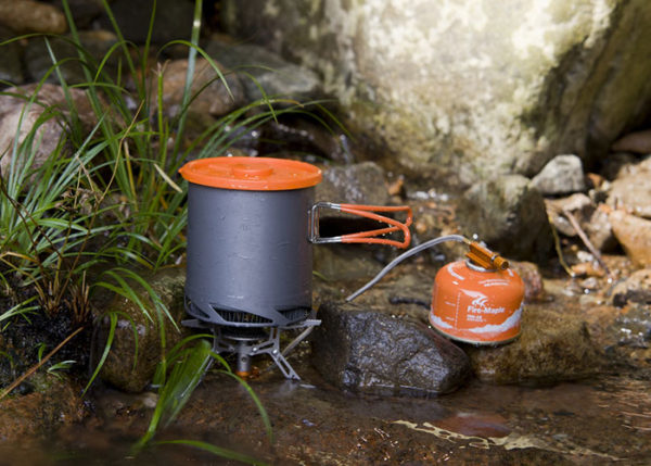 1 litre camp cooking pot