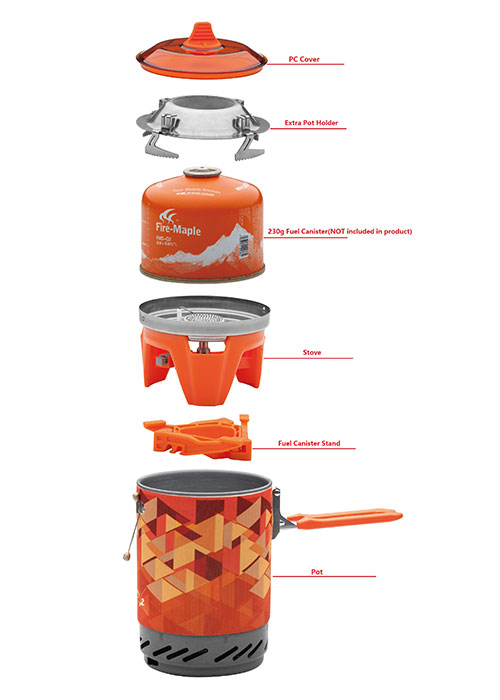 Fire Maple Star X2 Cooking System