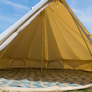 Bell tent mats