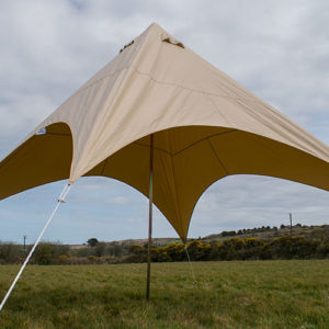 canvas star awning